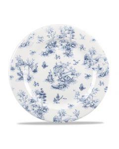 "Churchill Prague Toile Plate 10.8"""