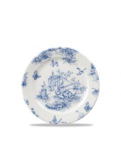 """Churchill Prague Toile Tea Plate 6.6"""""""