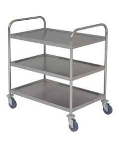 Flat Packed Stainless Steel Trolleys