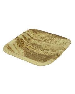 Vegware 8in Square Palm Plate