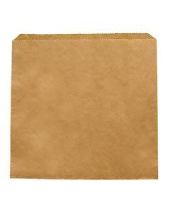"Vegware Recycled Kraft Sandwich Bags 8.5"""