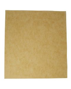 Vegware Unbleached Greaseproof Sheet 380 x 275mm - Compostable