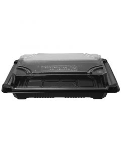 Vegware No.2 PLA Sushi Combo (17.5 x 12.5 x 4cm) - Compostable