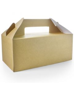Vegware Standard Carry Pack (22.5 x 9.5 x 12cm) - Compostable