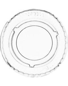 Vegware PLA Cold Portion Pot Lid (Fits 0.5/1oz Pots) - Compostable