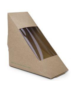 Vegware Standard Sandwich Wedge 65mm - Compostable