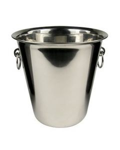 4Qt. Stainless Steel Champagne / Ice Bucket