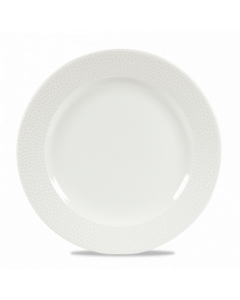 """Churchill Isla Footed Plate 12"""" White"""