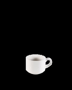 Churchill Isla Stacking Espresso Cup 3oz White