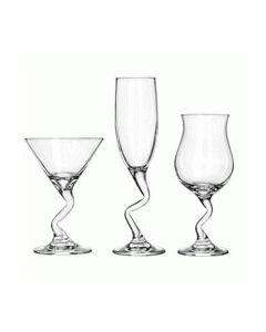 Z-Stem Cocktail Glasses