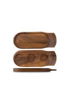 Churchill Art De Cuisine Woodware - Medium Igneous Acacia Tray