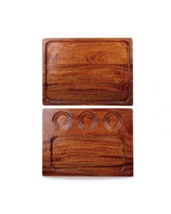 Churchill Art De Cuisine Woodware - Square Acacia Deli Board