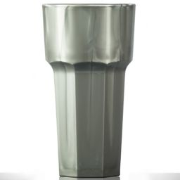 Elite Remedy Polycarbonate Tall Glass 12oz Silver