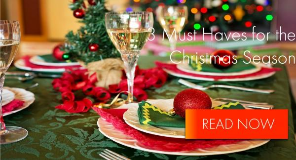 3 essentials for catering for 3 households this Christmas