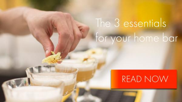 The three essentials to a great home bar (& the best tasting drinks to make in it!)