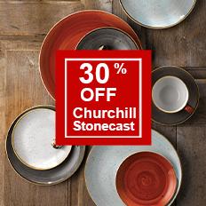 30% Off Churchill Stonecast