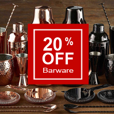20% Off Barware