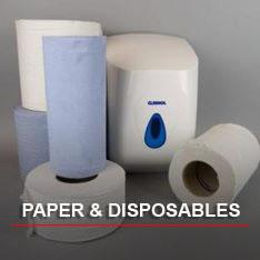 Paper & disposables