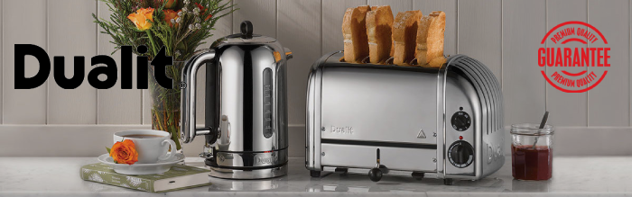 Dualit Toasters, Kettles, Catering Equipment From Ascot Wholesale